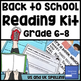 Back to School Reading Kit - Grade 6, 7 & 8