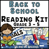 Back to School Reading Kit - Grade 3, 4 and 5