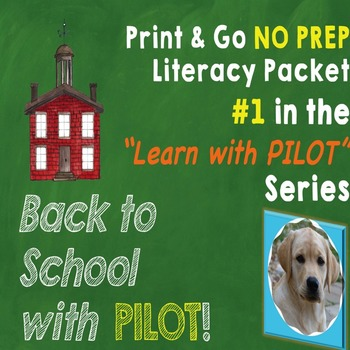 Back to School No Prep Literacy Packet