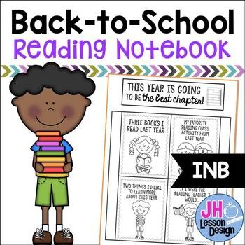 Back to School: Reading Interactive Notebook Activity