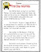 Back to School Reading Passages (Common Core Aligned)