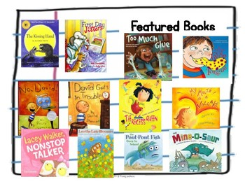 Back to School Character Ed Reading Responses K-2 BUNDLE