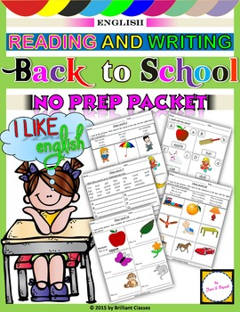 Back to School - Reading and Writing (NO PREP)
