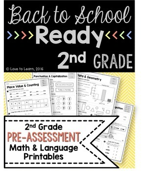 Back to School Ready - 2nd Grade