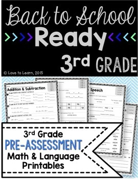 Back to School Ready - 3rd Grade