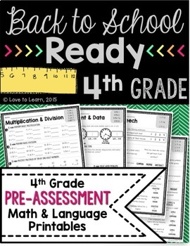 Back to School Ready - 4th Grade