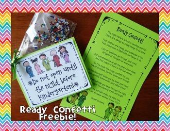Back to School Ready Confetti {FREEBIE!}