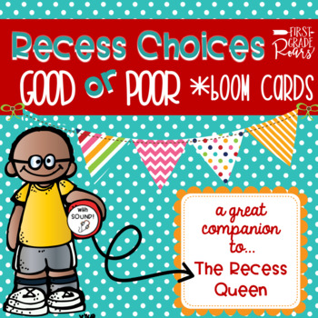 Back to School Recess Boom Cards
