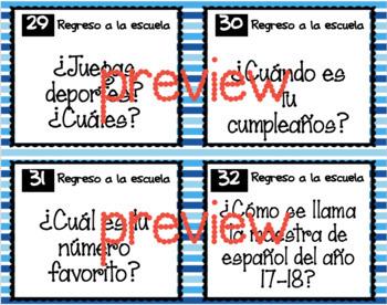 Back to School - Regreso a la Escuela - Beg or Int Levels
