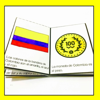 Free Colombia Mini Book