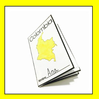 Free Colombia Mini Book