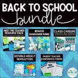 Back to School Resources Bundle