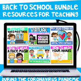 Back to School Resources for Teaching During the Coronavir