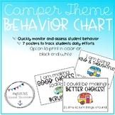 Back to School Retro Camper - Happy Camper Behavior Chart