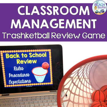 Back to School Classroom Management Review Game