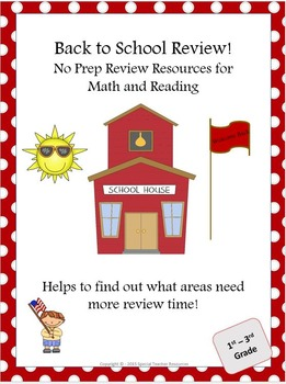 Back to School Review Packet