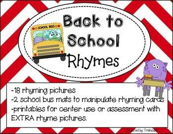 Back to School Rhymes