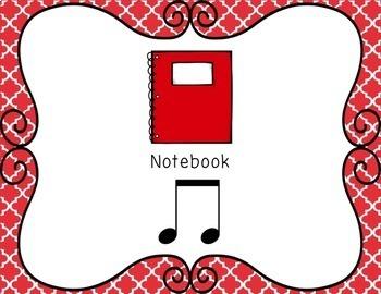 Back to School Rhythm Composition Activity