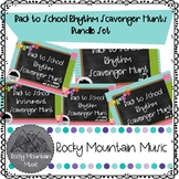 Back to School Rhythm Review Bundle Set