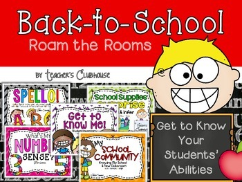 Back to School Roam the Rooms
