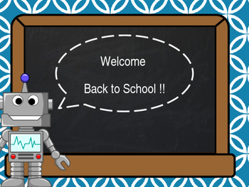 Back to School Robots