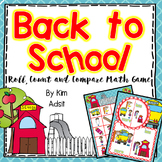 Back to School Roll Count and Compare Freebee by Kim Adsit