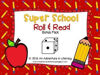 Back to School Roll & Read Bonus Pack-26 games