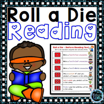 Literacy Games Roll A Die - Center Activities
