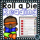 Literacy Games Roll A Die - Center Activities
