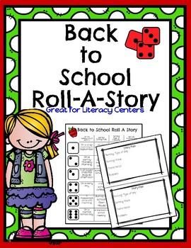 Back to School Roll a Story!