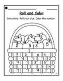 Back to School Roll and Color