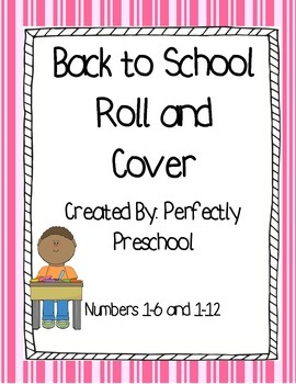 Back to School Roll and Cover {Dollar Deal}
