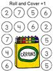 Back to School Roll and Cover Games