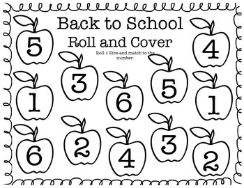 Back to School Roll and Cover Preview