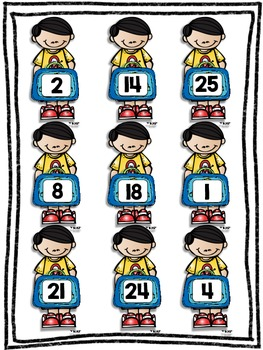 Back to School Roll and Cover for Multiplication Center Activity