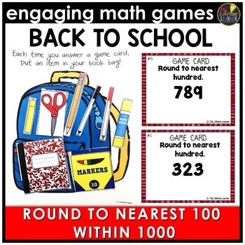 Back to School Round to Nearest Hundred Within 1000