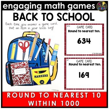 Back to School Round to Ten Within 1000