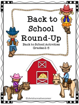 Back to School Round-up:  Back to school activities