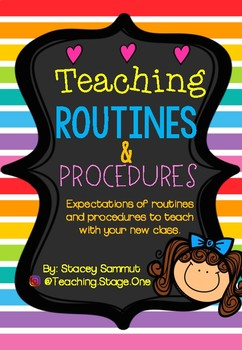Back to School - Routines & Procedures