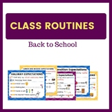 Back to School - Routines and Expectations Posters