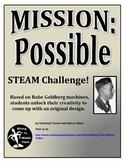 Back to School Activity- Rube Goldberg Project