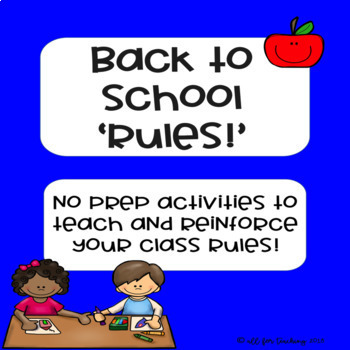 Back to School 'Rules'!