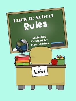 First week of School: Back-to-School Rules