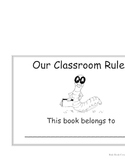 "Back to School ""Rules"" Book K-2"