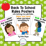 Back to School Rules Posters