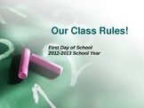 Back to School Rules & Procedures 3rd-5th Grade