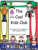 Colors Beginning of Year/ Classroom Management  The Cool Kids Club