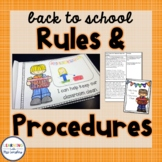 Back to School Rules and Procedures