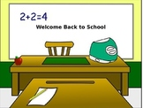 Back to School Rules and Procedures PowerPoint