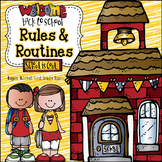 Back to School Rules and Routines with Literature